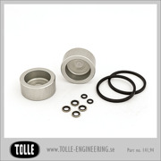 Overhaul kit with pistons for Sprocket brake