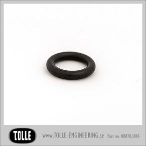 O-ring - Ø18,00x2,00 NBR 70