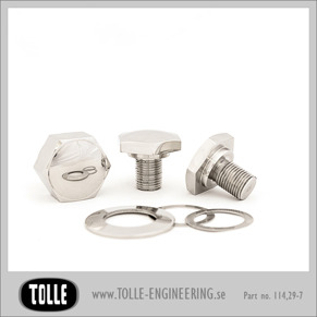 Cap bolts & nut kit - Cap bolt and nut kit