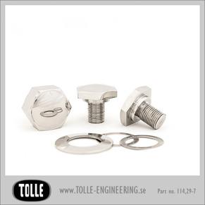 Cap bolts & nut kit - Cap bolt and nut kit