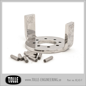 Steering stop for Tolle triples - FLST Softail EVO -99