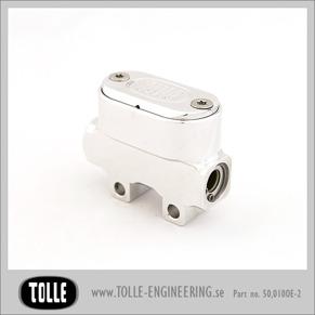 Master cylinder ISR/Tolle - Ø14, Oval polished