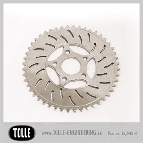 Sprocket brake rotor 48 teeth