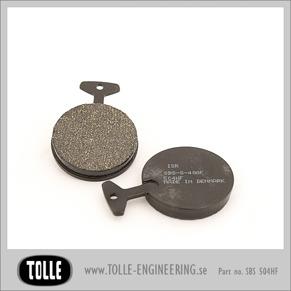 Brake pads SBS 504HF - Brake pads SBS 504HF