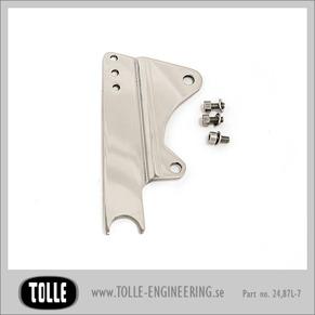 Caliper bracket Tolle fork HD 10'' - Left - Fäste till Tollegaffel Orginal H-D ok 84-99 10 tum