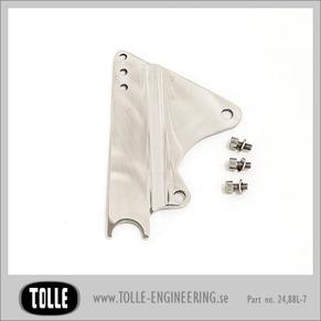 Caliper bracket Tolle fork H-D 8 5/8'' - Left - Fäste till Tollegaffel Orginal H-D ok 84-99 8 5/8 tum Vänster