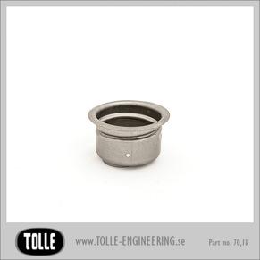Gas cap socket for HD-thread - Gas cap socket