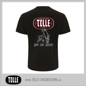 Chop that Sucker Black T-shirt - Black Medium