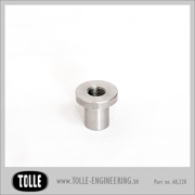 Tophat Blind Threaded 3/8 UNF Stainless