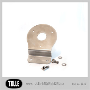 Bracket for Speedo/Tacho Raw/Polished - Bracket for Speedo/Tacho Raw