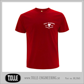 T-shirt  the original - Medium Red