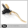 K-TECH DELUXE Brake master cylinder lever assemblies - K-TECH DELUXE Brake master cylinder. 14mm. Brass/Black/Polished