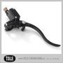 K-TECH DELUXE Brake master cylinder lever assemblies - K-TECH DELUXE Brake master cylinder. 14mm. Black