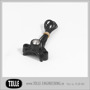 K-TECH DELUX- & CLASSIC Clamp with micro switch. 1 button - K-TECH Clamp with micro switch. 1 button. Black Anodized
