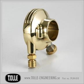 K-TECH DELUXE external throttle housing. Brass - K-TECH DELUXE external throttle housing. 1
