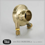 K-TECH DELUXE external throttle housing. Brass - K-TECH DELUXE external throttle housing. 7/8