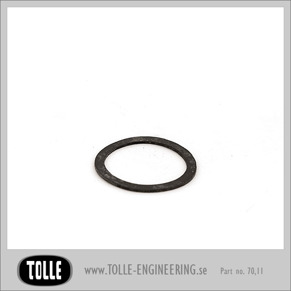 Gas cap gasket - 32/40x1mm Pop-up