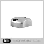 Fork axel pinch cap Standard,  Ballmilled/ classic