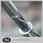 Brake line clamp