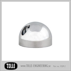 Fork axel pinch cap round, smooth - Fork axel pinch cap ball, smooth
