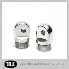 Fork Tube Plugs Classic adjustable - For adjustable trees 49-77 Ø41,2