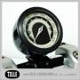 Motogadget Tiny Speedometer Cup - mst Streamline Cup 22 mm, Black