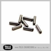 Hardened pins
