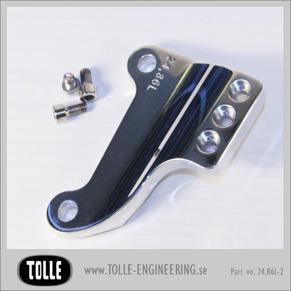 Caliper bracket Tolle fork H-D 84-99 11,5 Left - Caliper bracket Tolle fork H-D 11,5 LeftOrginal H-D ok 84-99 11,5 tum, left