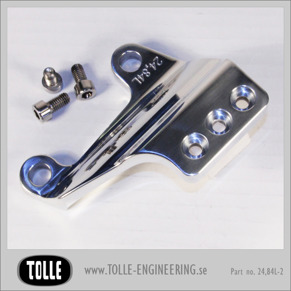 "Caliper bracket Tolle fork HD 00-up 11,5'' Left - Caliper bracket for Tolle fork Orginal H-D 00-up 11,5"" Left"