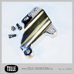 "Caliper bracket Tolle fork HD 00-up 11,5'' Right - Caliper bracket for Tolle fork Orginal H-D 00-up 11,5"" Right"