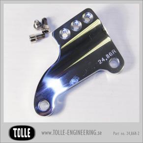 Caliper bracket Tolle fork H-D 84-99 11,5 Right - Caliper bracket Tolle fork H-D 11,5 LeftOrginal H-D ok 84-99 11,5 tum, right