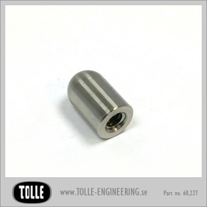 Threaded Bullet 1/4 UNC Stainless - Threaded Bullet 1/4 UNC Stainless