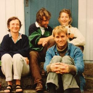Jag och Magnus (med Lotta och hennes mamma) 1996.