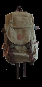 Urmony lifestyle backpack - Urmony lifestyle backpack Mossgrön