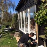 Renovering av fönsterparti