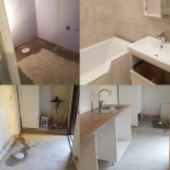 Totalrenovering badrum/tvättstuga