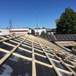 Renovering och nylägging av tak på Råå