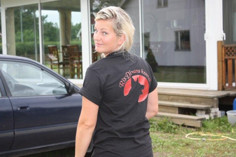 Anna med fin t-shirten på=)