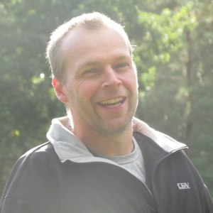 En väldigt glad skydds figurant Patrik Svensson=)