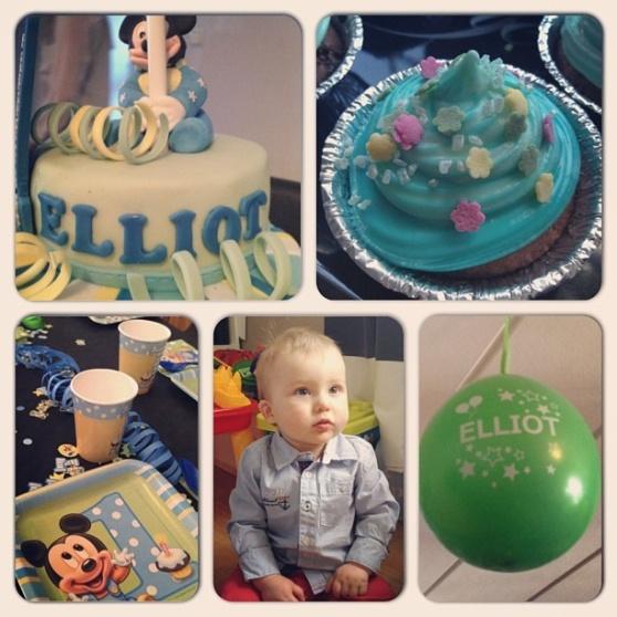 Elliots 1 års kalas