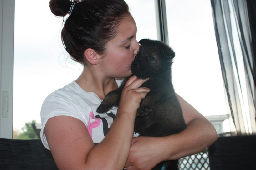 Lilla Axa Emmas hund stannar kvar hos oss!