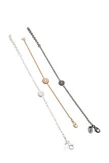 Armband Knappfossil, medium - Armband Knappfossil i oxiderat silver, medium