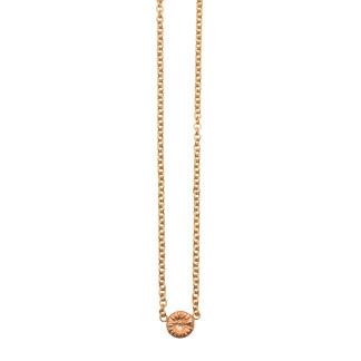 Fossil halsband guld, medium -