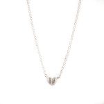Heart of Gotland halsband silver