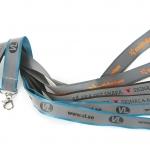 Nyckelband med tryckt reflex