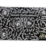 Malmö Opera microfiber duk Lo