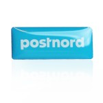 Postnord Screentryckt Pin