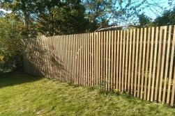 staket med smala spjälor