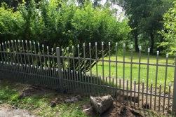 exklusivt staket i smide