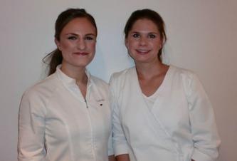 Camilla Meltzer - Auktoriserad hudterapeut & Pia Schlott - Medicinsk auktoriserad och diplomerad fotterapeut
